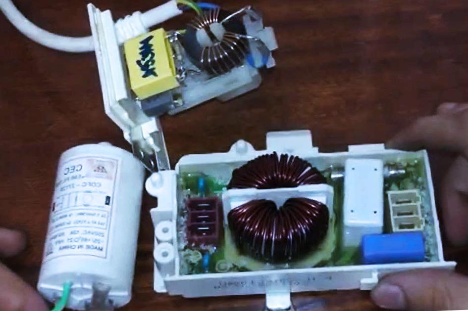 Замена сетевого помехоподавляющего фильтра в стиральной машине