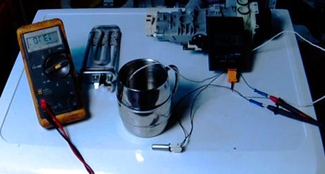 Проверка-датчика-температуры-в-стиральной-машине-2
